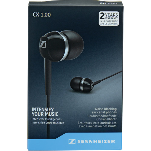 Sennheiser CX 1.00 Earphones (Black)