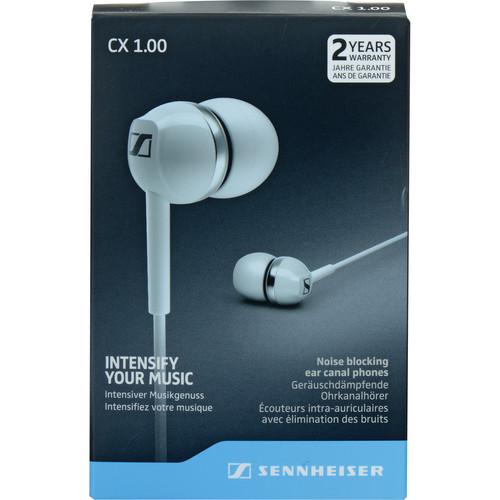 Sennheiser CX 1.00 Earphones (White)