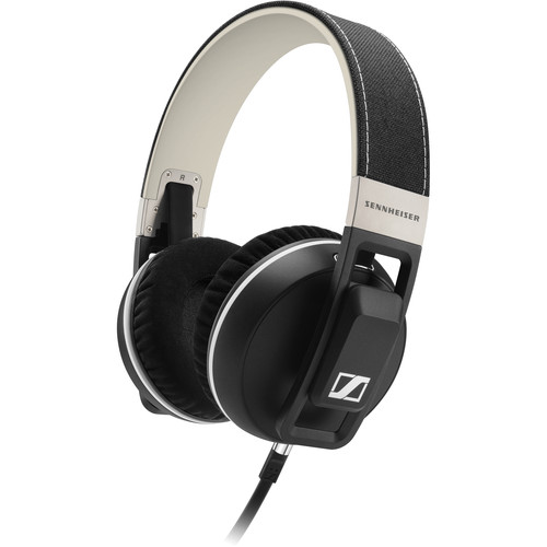 Sennheiser Urbanite XL Over-Ear Headphones (Black, Apple iOS)