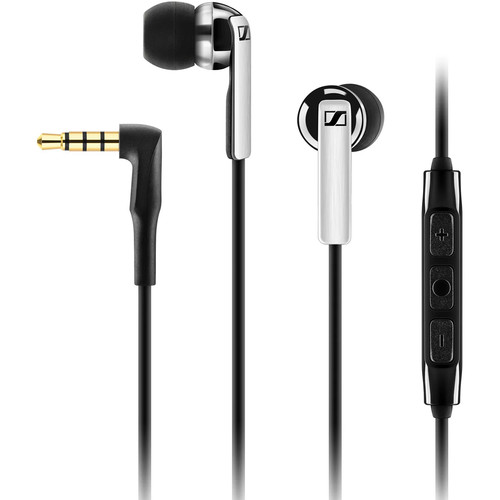 Sennheiser CX 2.00I Earphones (Black, Apple iOS)