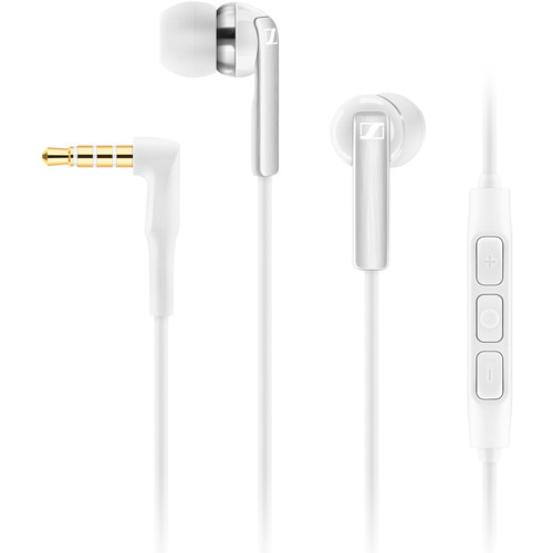 Sennheiser CX 2.00I Earphones (White, Apple iOS)
