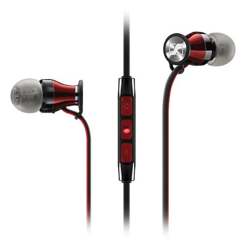 Sennheiser Momentum In-Ear Headphones (Apple iOS, Red)