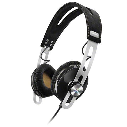 Sennheiser Momentum 2 Lifestyle On-Ear Hifi Headphones (iOS, Black)
