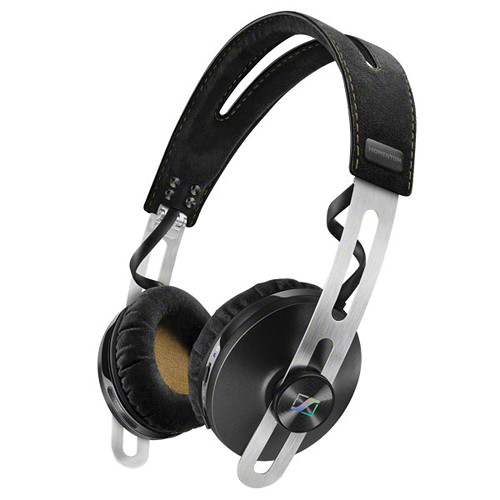 Sennheiser Momentum 2 Bluetooth On-Ear Wireless Headphone with Integrated Mic (Black)