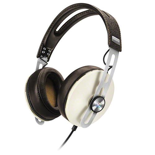 Sennheiser Momentum 2 Lifestyle Around-Ear Hifi Headphones (Android, Ivory)