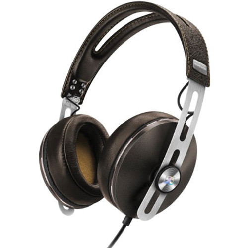 Sennheiser Momentum 2 Lifestyle Around-Ear Hifi Headphones (iOS, Brown)