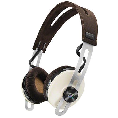 Sennheiser Momentum 2 Bluetooth On-Ear Wireless Headphone with Integrated Mic (Ivory)