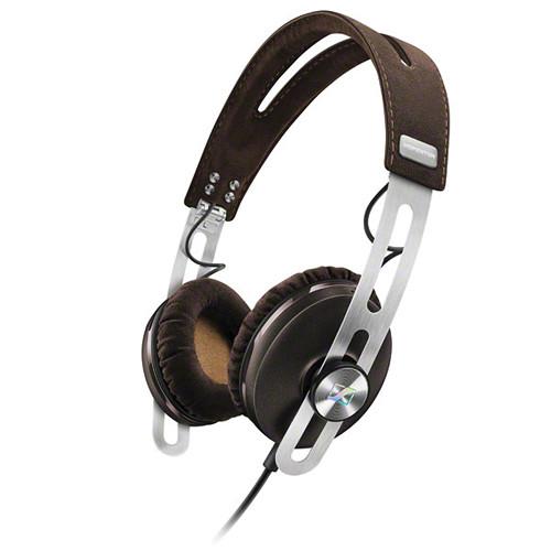 Sennheiser Momentum 2 Lifestyle On-Ear Hifi Headphones (iOS, Brown)