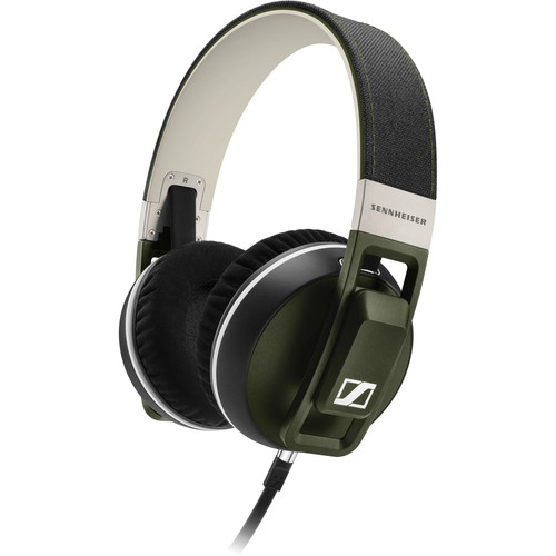 Sennheiser Urbanite XL Over-Ear Headphones (Olive, Apple iOS)