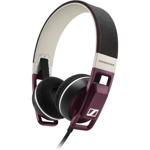 Sennheiser Urbanite On-Ear Earphones (Plum, Apple iOS)
