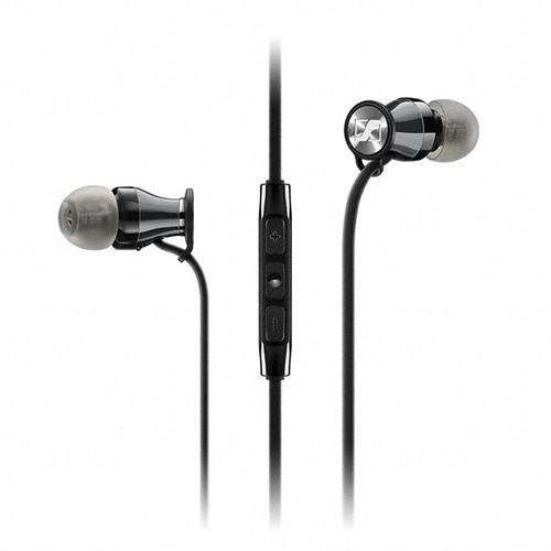 Sennheiser Momentum In-Ear Headphones (Apple iOS, Black Chrome)