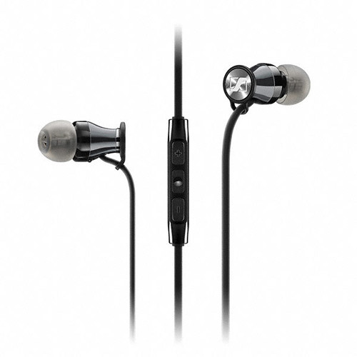 Sennheiser Momentum In-Ear Headphones (Samsung Galaxy/Android, Black Chrome)