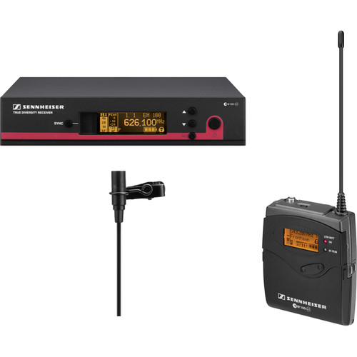 Sennheiser ew 112 G3 Wireless Bodypack Microphone System with ME 2 Lavalier Mic - A1 (470-516 MHz)