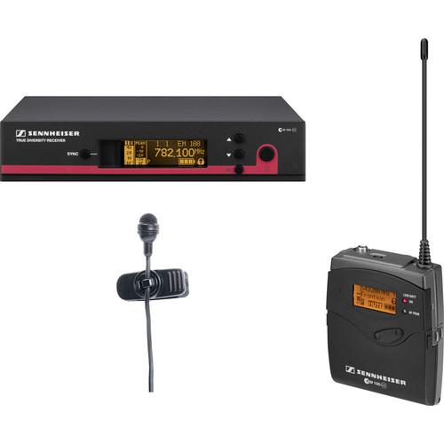 Sennheiser ew 122 G3 Wireless Bodypack Microphone System with ME4 Lavalier Mic - A1 (470-516 MHz)