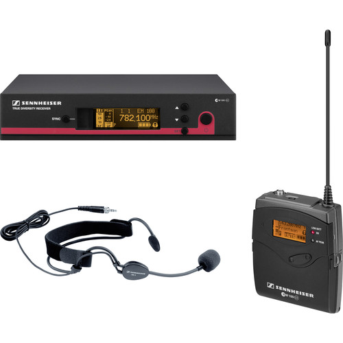 Sennheiser EW152 G3 Wireless Bodypack Microphone System with ME3 Headset Mic (A1: 470-516 MHz)