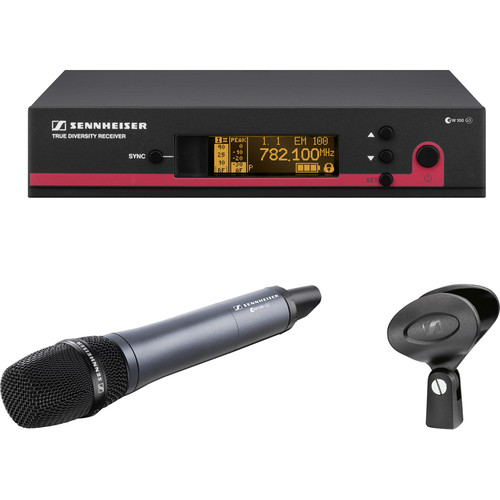 Sennheiser EW145 G3 Wireless Handheld Microphone System with E845 Mic (Frequency A1: 470-516 MHz)