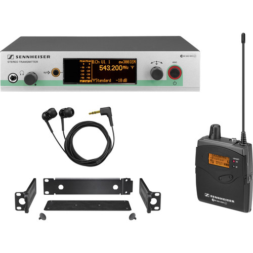 Sennheiser ew 300 IEM G3 Wireless In-Ear Monitoring System (A1: 470-516 MHz)