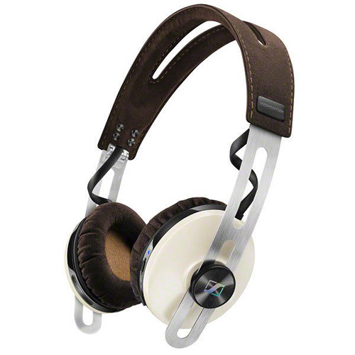 Sennheiser HD 1 On-Ear Wireless Headphones with Integrated Microphone (Ivory)