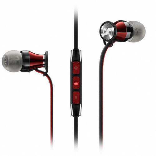 Sennheiser HD 1 In-Ear Headphones for iOS Devices (Black/Red)