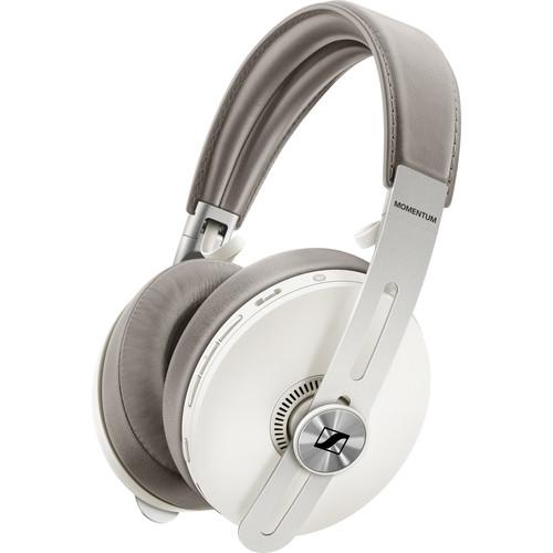 Sennheiser MOMENTUM 3 Noise-Canceling Wireless Over-Ear Headphones (Sandy White)
