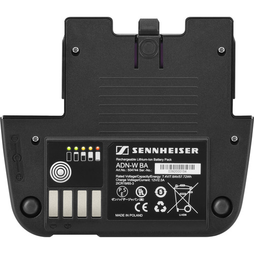 Sennheiser Rechargeable Lithium-Ion Battery Pack for ADN-W C1/D1 Wireless Conference Units