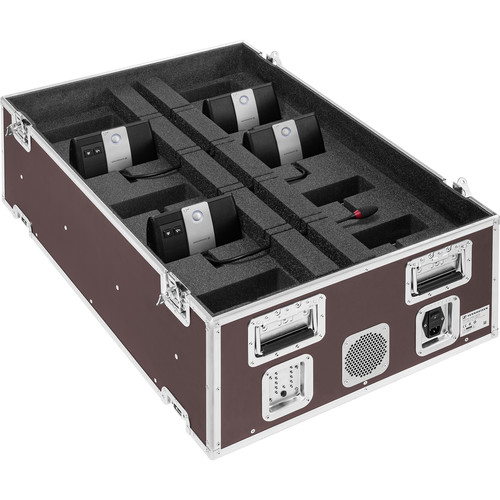 Sennheiser Modular Transport & Charging Case for Up to 10 ADN-W Wireless Conference Units (US Plug)