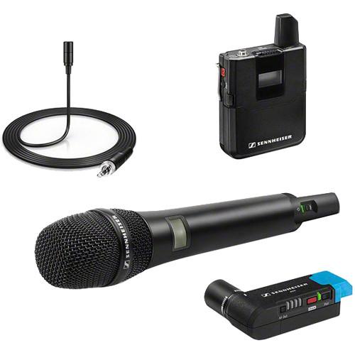 Sennheiser Avx Digital Wireless Microphone System Me2 835 Combo Set : sennheiser avx handheld and lavalier set with skb case kit b h ~ Russianpoet.info Haus und Dekorationen