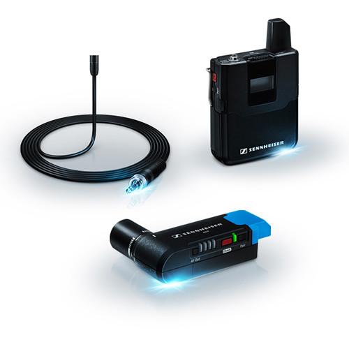 Sennheiser AVX Camera-Mountable Lavalier Pro Digital Wireless Set (MKE2 Lavalier)