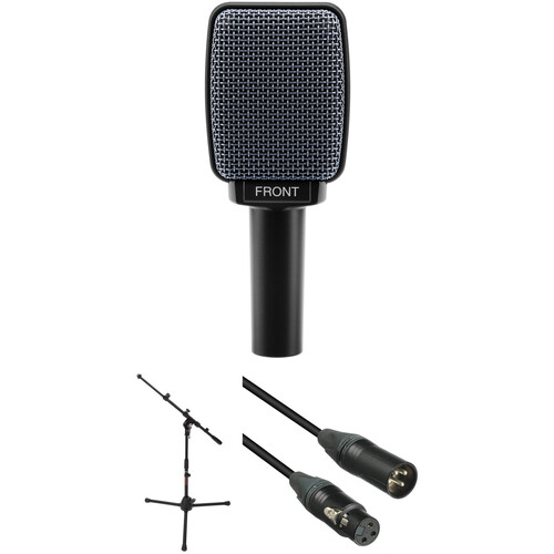 Sennheiser e 906 Dynamic Instrument Microphone with Stand & Cable Performance Kit