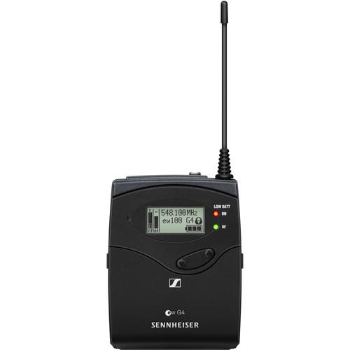 Sennheiser EK 100 G4 Wireless Camera-Mount Receiver A1: (470 to 516 MHz)