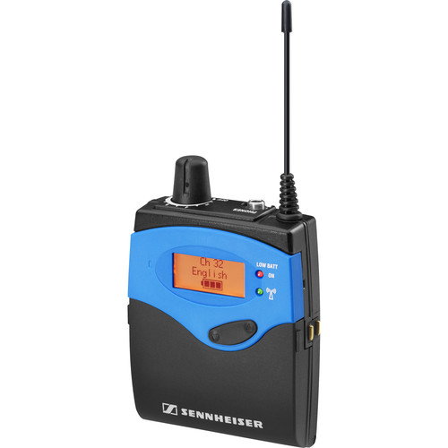 Sennheiser EK 1039 Aw+ 32-Channel Tourguide Bodypack Receiver (470.100 to 558.000 MHz)