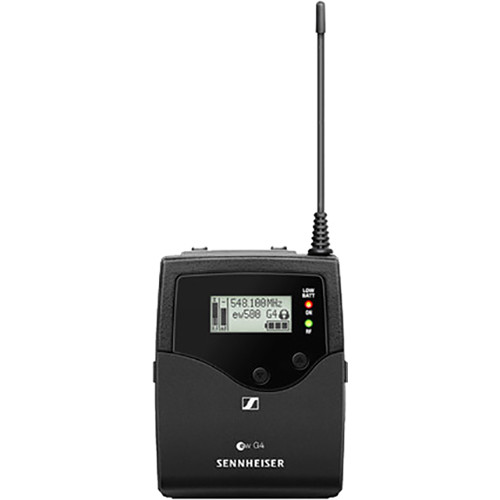 Sennheiser EK 500 G4 Pro Wireless Camera-Mount Receiver AW+: (470 to 558 MHz)