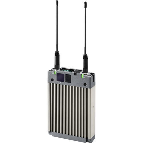 Sennheiser 2-Channel True Diversity Camera Receiver, 470-654 MHz, Digital and Analog