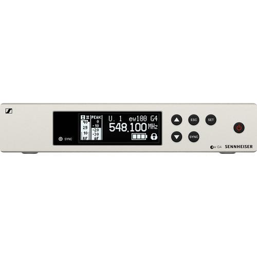 Sennheiser EM 100 G4 Wireless Receiver (A: 516 to 558 MHz)