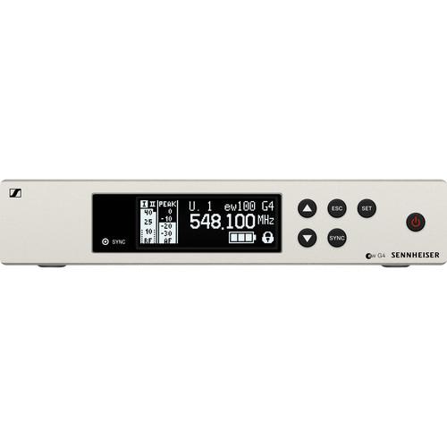 Sennheiser EM 100 G4 Wireless UHF True Diversity Rackmount Receiver G: (566 to 608 MHz)