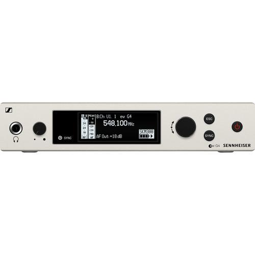 Sennheiser EM 300-500 G4 Wireless True Diversity Receiver AW+: (470 to 558 MHz)
