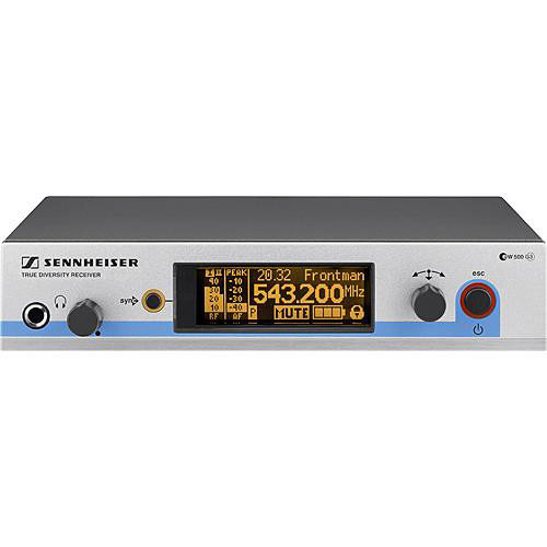 Sennheiser EM 500 G3 Wireless UHF Diversity Receiver (Frequency A1: 470 to 516 MHz)