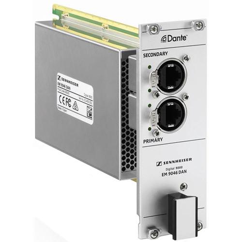 Sennheiser EM 9046 DAN Dante Interface Module for EM 9046 SU Receiver Mainframe