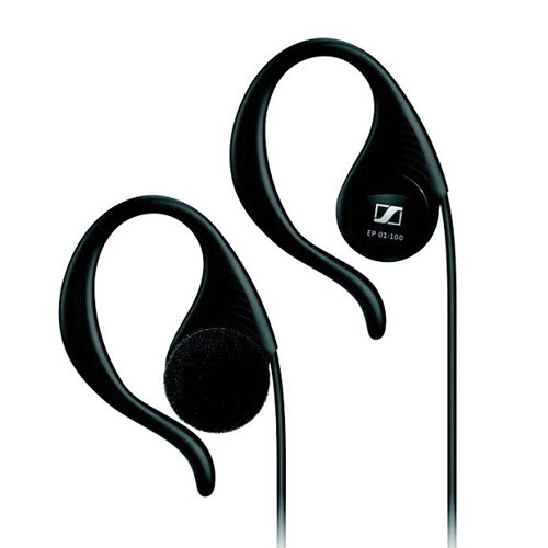 Sennheiser EP 01-L100 In-Ear Mono Earphone for Visitor Guidance and Conference Systems with 3.5mm Straight Connector (Left Ear, 50-Pack)