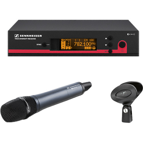 Sennheiser ew 100-935 G3 Wireless Handheld Microphone System with e 935 Mic (A1: 470 to 516 MHz)