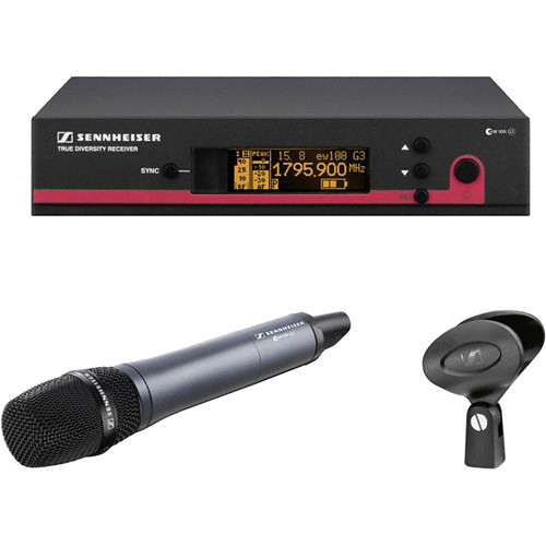 Sennheiser ew 100-945 G3 Wireless Handheld Microphone System with e945 Mic (G: 566 to 608 MHz)