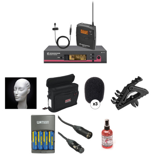 Sennheiser ew 112 G3 Wireless Bodypack System with Countryman E6i Headset Microphone Kit