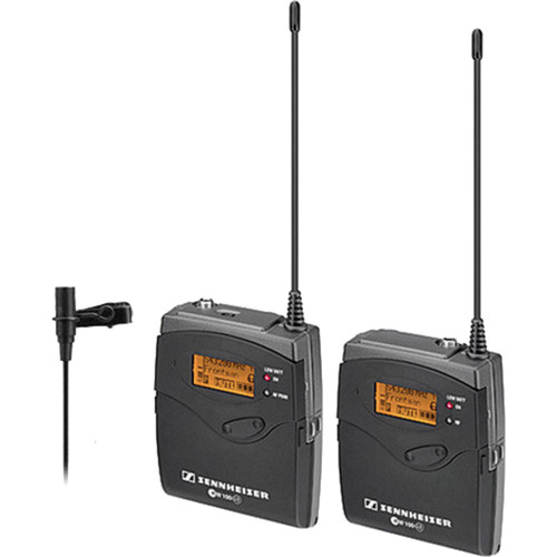 Sennheiser ew 112-p G3 Camera-Mount Wireless Microphone System with ME 2 Lavalier Mic - A (516-558 MHz)