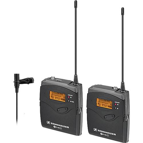 Sennheiser ew 112-p G3 Camera-Mount Wireless Microphone System with ME 2 Lavalier Mic - B (626-668 MHz)