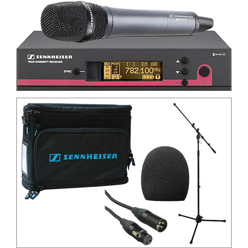 Sennheiser EW135 G3 Wireless Handheld Microphone System Kit (A: 516-558 MHz)
