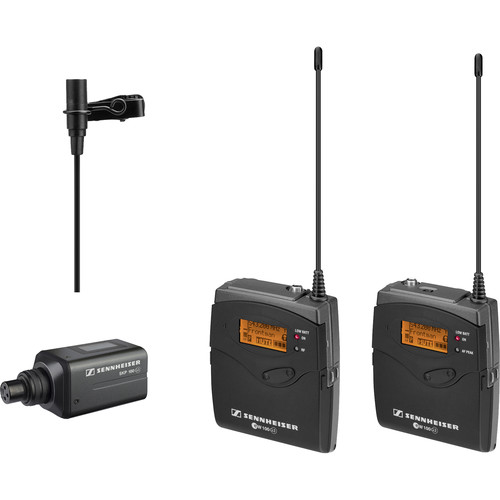 Sennheiser ew 100 ENG G3 Wireless and Water-Resistant Omnidirectional Lavalier Microphone Kit (566-608 MHz)