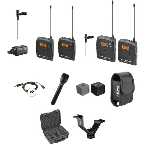Sennheiser ew 100 ENG G3 Dual Wireless Broadcast Kit (A1: 470-516 MHz)