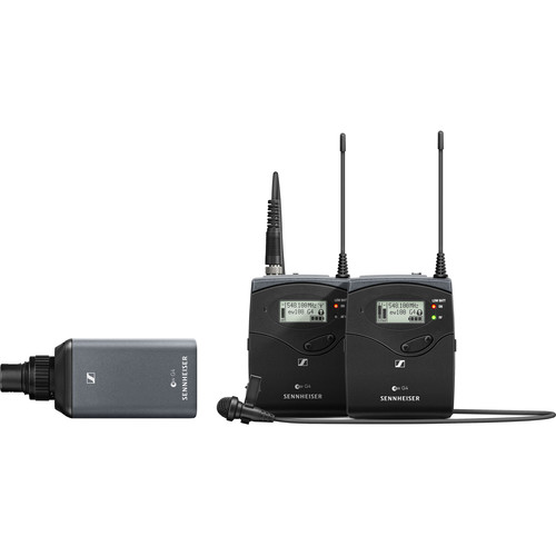 Sennheiser EW 100 ENG G4 Camera-Mount Wireless Combo Microphone System (A1: 470 to 516 MHz)