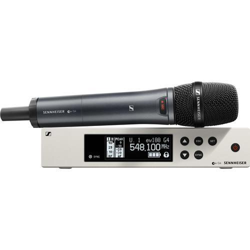 Sennheiser ew 100-845 G4-S Wireless Handheld Microphone System A1: (470 to 516 MHz)