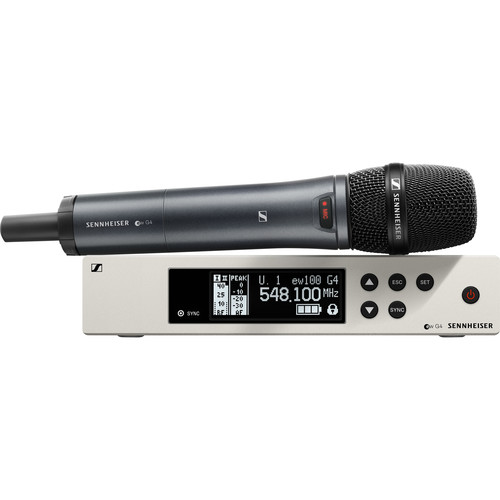 Sennheiser ew 100-865 G4-S Wireless Handheld Microphone System G: (566 to 608 MHz)